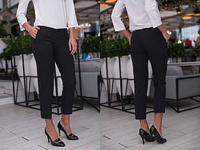 """Укороченные женские брюки """"ALEX"""" с карманами (4 цвета), фото 3"""