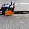 Немецкая бензо-пила Мощная 5 лет гарантии профессиональная плавный пуск Power Craft 5235 стартер метал, фото 3
