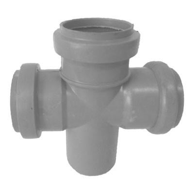 Крестовина канализационная 50*50*50 мм (90 градусов)