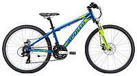 """Подростковый велосипед Apollo Panther 24"""" сине-зеленый"""
