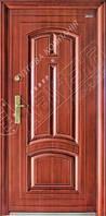 Двери входные металлические Abwehr AVTOLAK 11-32 левые минвата