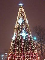 Новогоднее оформление, аренда гирлянд Киев