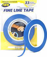 Маскирующая лента (скотч) для криволинейных форм 6 мм. х 33 м. HPX FINE LINE FL0633