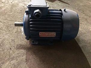 Электродвигатель 1.1 кВт 1000 об/мин, фото 2