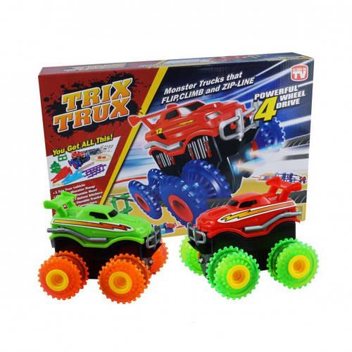 ? Конструктор канатный трек Trix Trux с машинкой Монстр трак, детский конструктор, игры для мальчиков | ?%?