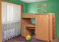Детская двухъярусная кровать Дуэт-1