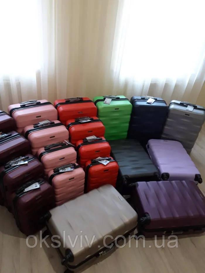 Валізи чемоданы FLY 960 Польща з розширенням