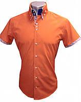 Мужская рубашка с коротким рукавом S 18.3  506/18-1447++