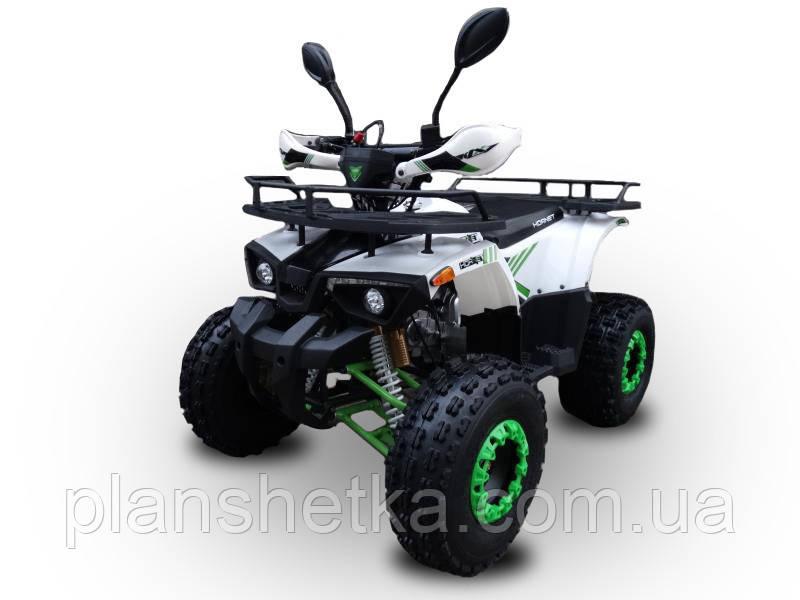 Квадроцикл 125 кубів Hornet Bomber біло-зелений