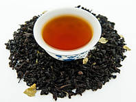 Земляника со сливками (черный ароматизированный чай), 50 грамм