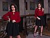 """Стильная женская юбка-колокол """"SUZAN"""" со складками (8 цветов), фото 4"""