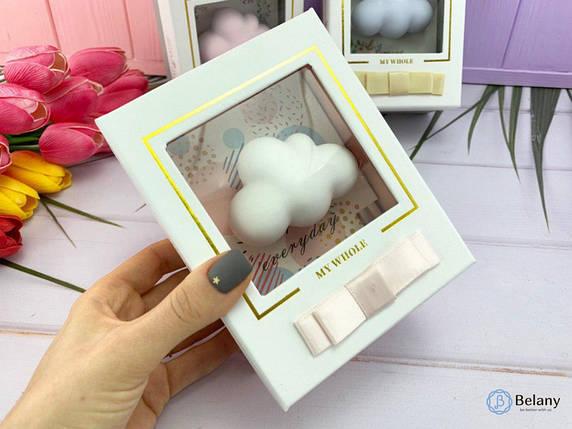 """Подарочный набор """"Облачко"""" с ароматизатором белая тучка прекрасный подарок, фото 2"""