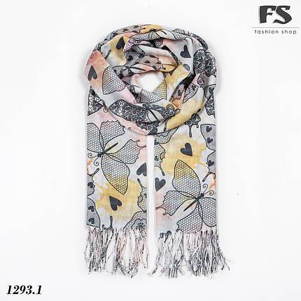 Легкий шарф Метелики, фото 2