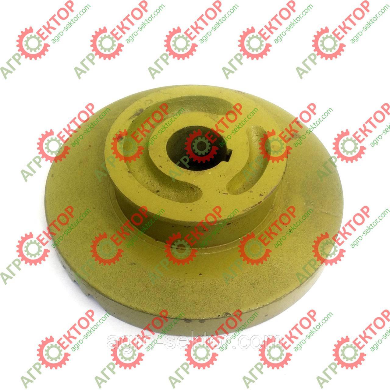 Тарелка правая з тормозом вязального аппарата прессподборщикаClaas Markant800426