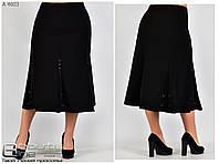 c4b7fcf04a8 Promo. UA. 450 грн. Оптовые цены. В наличии. Женская классическая черная  юбка (размеры ...