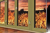 Противопожарные алюминиевые перегородки и двери Ponzio PE 78 EI, фото 1