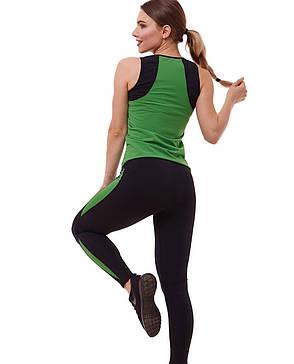 """Костюм для фитнеса """"зеленый и черный"""", фото 2"""