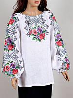 Блуза женская вышиванка Колос 50 Розкіш літа  (3038/150) (2-3038/150)