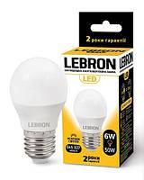 Лампа світлодіодна 6 Вт, E27, 480 Lm, 240*