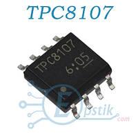 TPC8107, MOSFET транзистор P канал, 30В 13А, SOP8