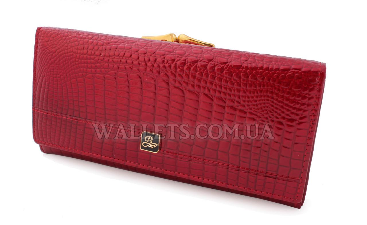 Жіночий шкіряний гаманець BALISA, червоний лак