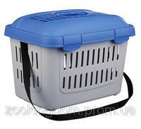 Trixie Midi-Capri переноска для животных до 5 кг, 44х33х32 синяя