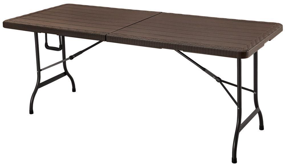 Стол складной туричтический Goodhome 180 коричневый