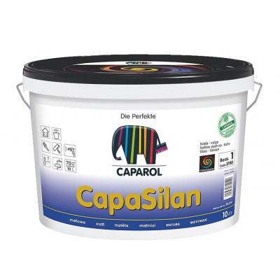 Краска интерьерная Caparol CapaSilan B1 (Капарол) силиконовая (2,5 л)