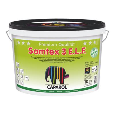 Краска интерьерная латексная Caparol Samtex 3 (Капарол Самтекс) глубокоматовая стойкая к мытью (9,4 л)