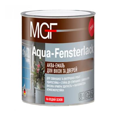 Акваэмаль для окон и дверей MGF Aqua-Fensterlack (2,5 л)