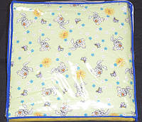 Одеяло детское летнее 105х140 чистая шерсть