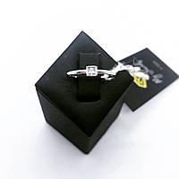 Кольцо из серебра 925  на фалангу пальца (15,5 размер)