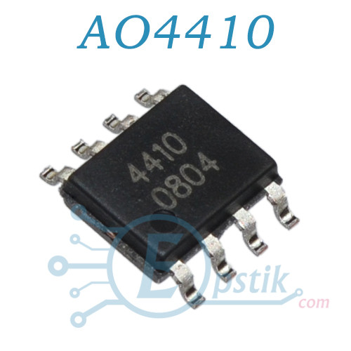 AO4410, MOSFET транзистор N канал, 30В, 18А, SOP8