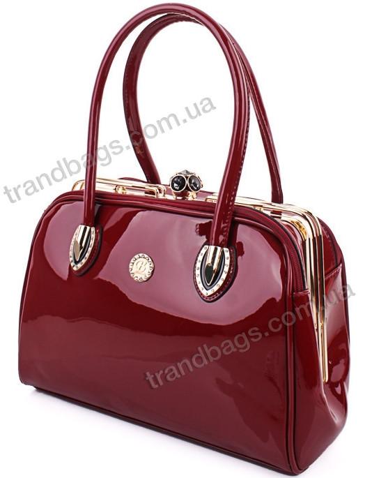 6748c4fb20ca Женская лакированная сумка 9006 купить женскую лакированную сумку ...