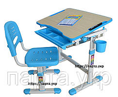 Комплект парта та стілець, зростаючі, 2 кольори