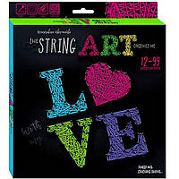 Набор для творчества DankoToys DT STRA-01-03 плетение нитками The String Art