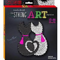 Набор для творчества DankoToys DT STRA-01-04 плетение нитками The String Art