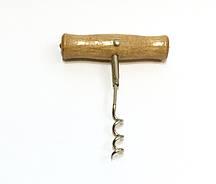Штопор деревянная ручка