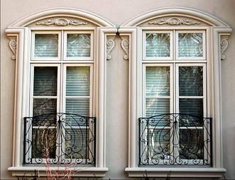 Віконні обрамлення з пінополістиролу: переваги