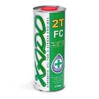 XADO Atomic Oil 2T FC синтетическое малодымное масло для двигателей мототехники .1 л