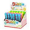 Мыльные пузыри 1012 ручка 12см, (4цвета в ассортименте) в дисплее, 18-12-14см