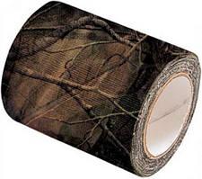 Маскировочная лента Allen Camo Cloth Tape (матерчатая). Размеры - 5 см х 9,15 м. Цвет - Mossy Oak Break-Up.Маскировочная лента Allen Camo Cloth Tape