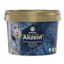Антибактеріальна вологостійка фарба Eskaro Akzent 9,5 л, 2,7 л