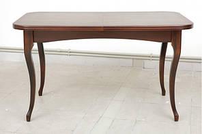 """Розкладний стіл """"Мартін"""" (темний горіх) 130см"""