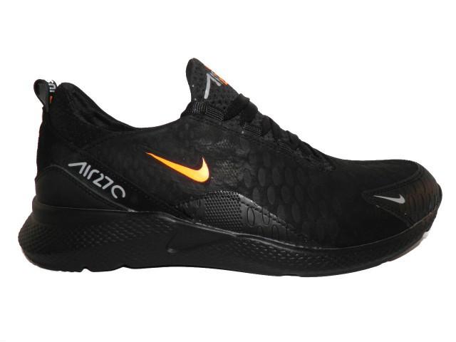 Туфли мужские Nike N 3 черный с оранжевым *17872