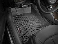 Ковры резиновые WeatherTech передние черные Audi A6 12+