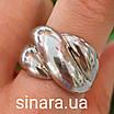 Серебряное кольцо Damiani Gomitolo - Серебряное кольцо Дамиани Гомитоло - Родированное серебряное кольцо, фото 4