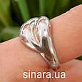 Серебряное кольцо Damiani Gomitolo - Серебряное кольцо Дамиани Гомитоло - Родированное серебряное кольцо, фото 3
