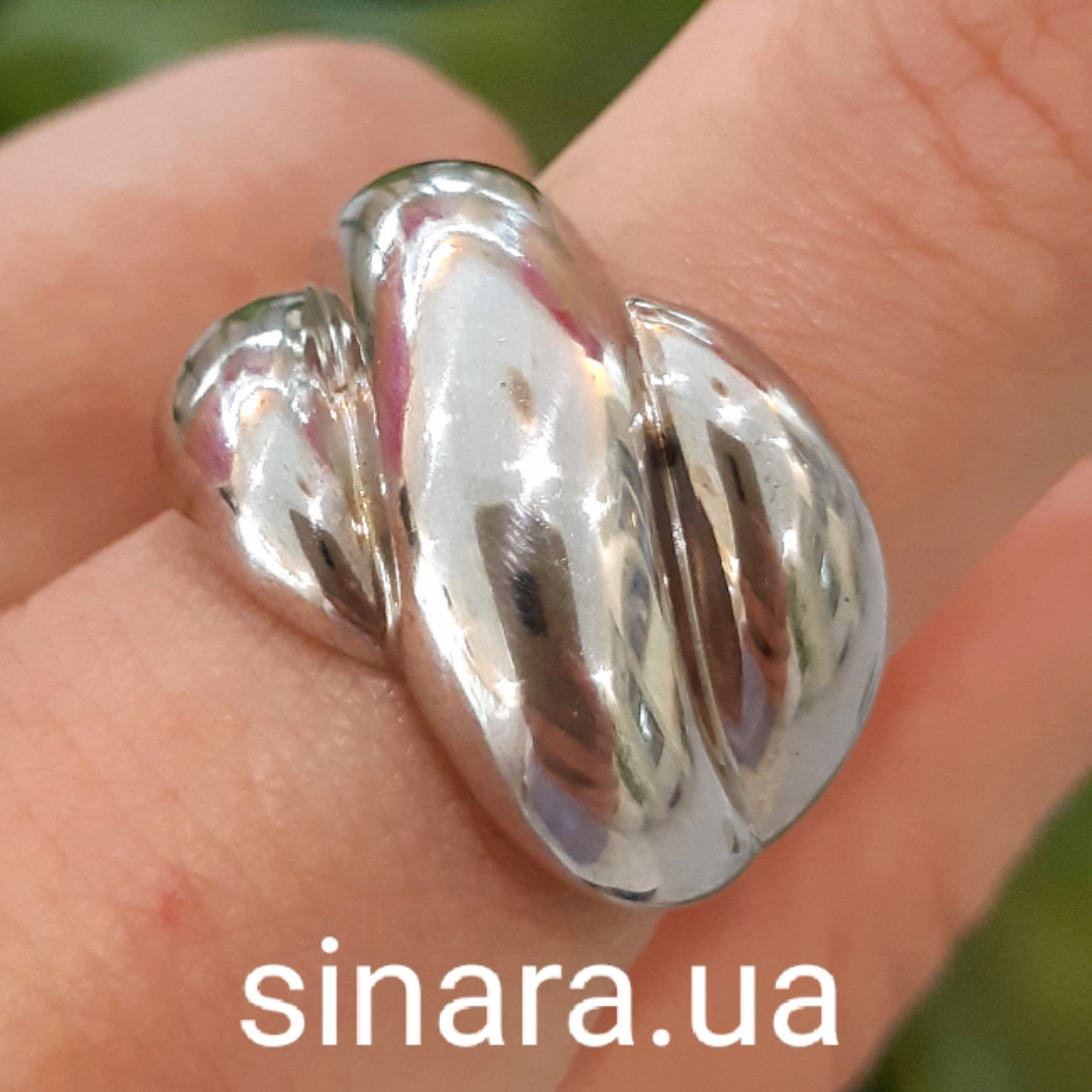 Серебряное кольцо Damiani Gomitolo - Серебряное кольцо Дамиани Гомитоло - Родированное серебряное кольцо