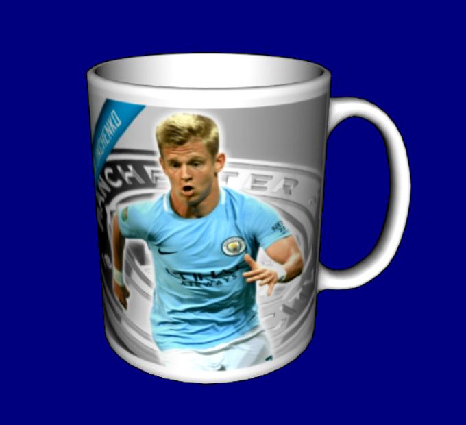 Кружка / чашка Манчестер Сити Зинченко